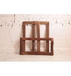 drewniana-rama-do-lustra-ze-starego-drewna-ciosanego-recznie-ciemnobrązowego-120x60