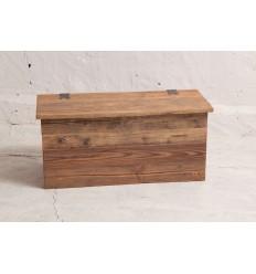 Skrzynia - szafka na buty ze starego drewna