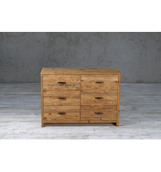 Komoda z szufladami ze starego drewna No. 299