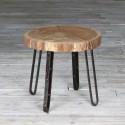 Stolik drewniany kawowy lub nocny - stary dąb No. 302
