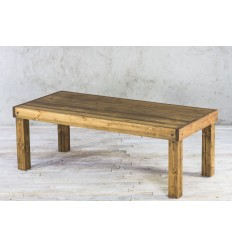 Stół ze starego drewna - rdzeń belki No. 25