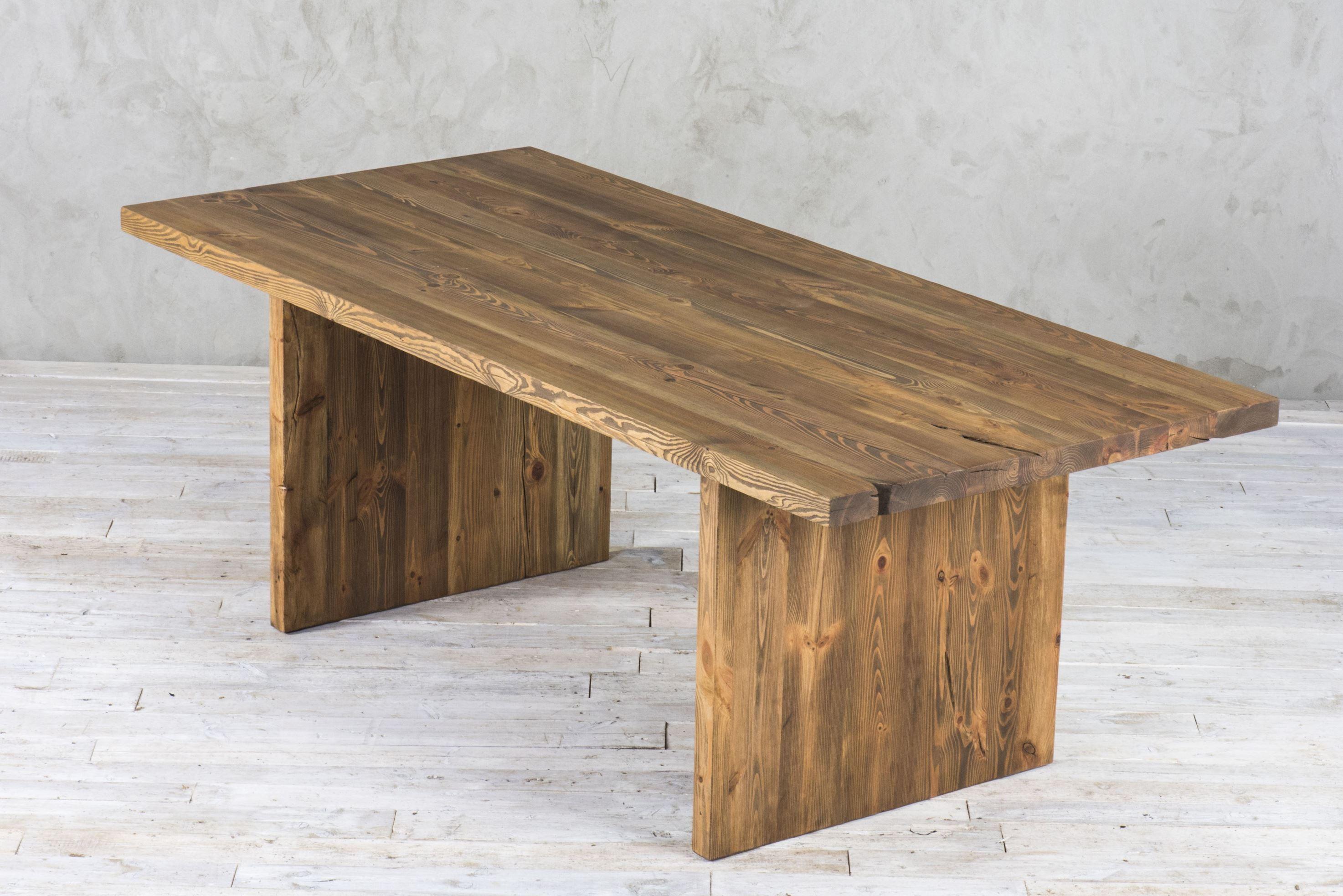 Nowoczesny stół z rdzenia starego drewna No. 390 v2