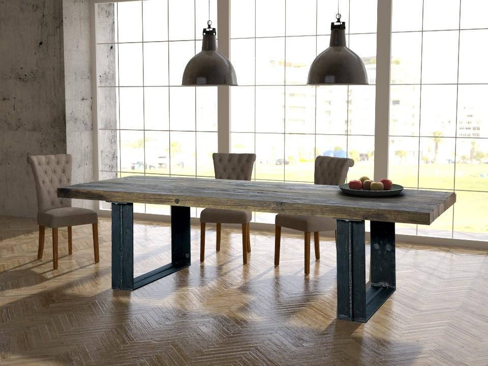 Stół loftowy - stary dąb No. 392