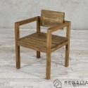 Krzesło ze starego drewna No. 398 - rdzeń