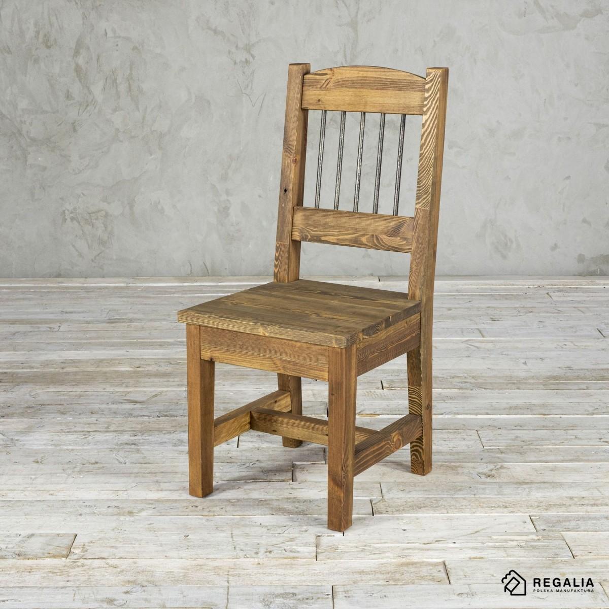 Krzesło ze starego drewna NO. 404 - rdzeń