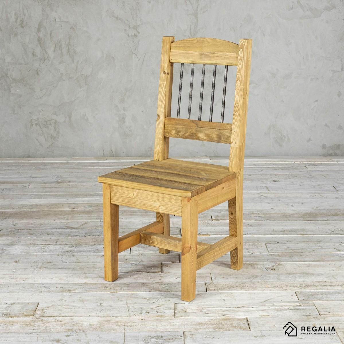 Krzesło ze starego drewna NO.404 - stara powierszchnia