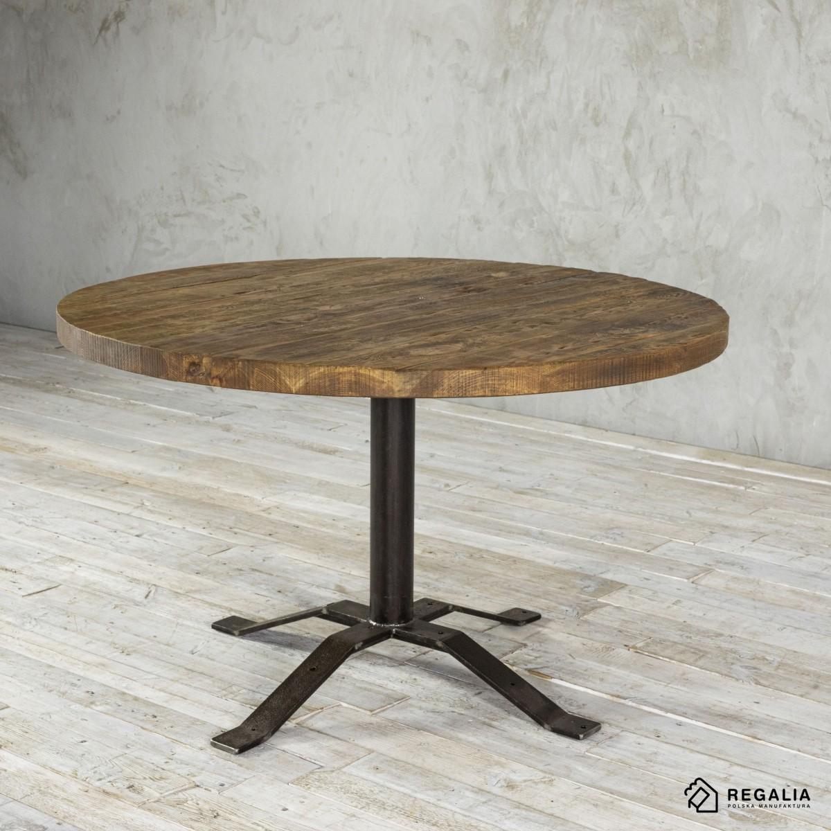 Okrągły stolik kawowy na podstawie z zawiasów No. 430