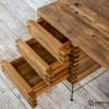 Biurko ze starego drewna - łaty dachowe No. 460